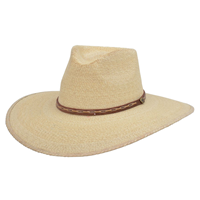 Alamo Palm Hat with Hondo Crown