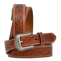 "3D 1 3/4"" Natural Men's Western Fashion Belt"