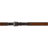 "3D 1 3/4"" Chocolate Men's Western Fashion Belt"