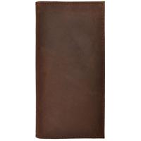 3D Dark Brown Basic Rodeo Wallet