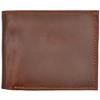 3D Cognac Basic Bifold Wallet