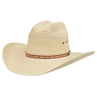 Alamo Palm Hat with Rancher Crown