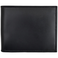 3D Black Basic Bifold Wallet
