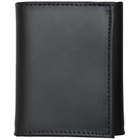 3D Black Basic Trifold Wallet