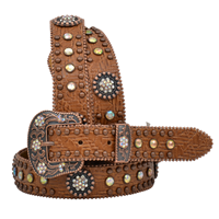 "Angel Ranch 1"" Brown Girls' Fashion Belt"