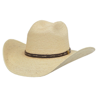 Alamo Guatemala Palm Hat with Idaho Crown