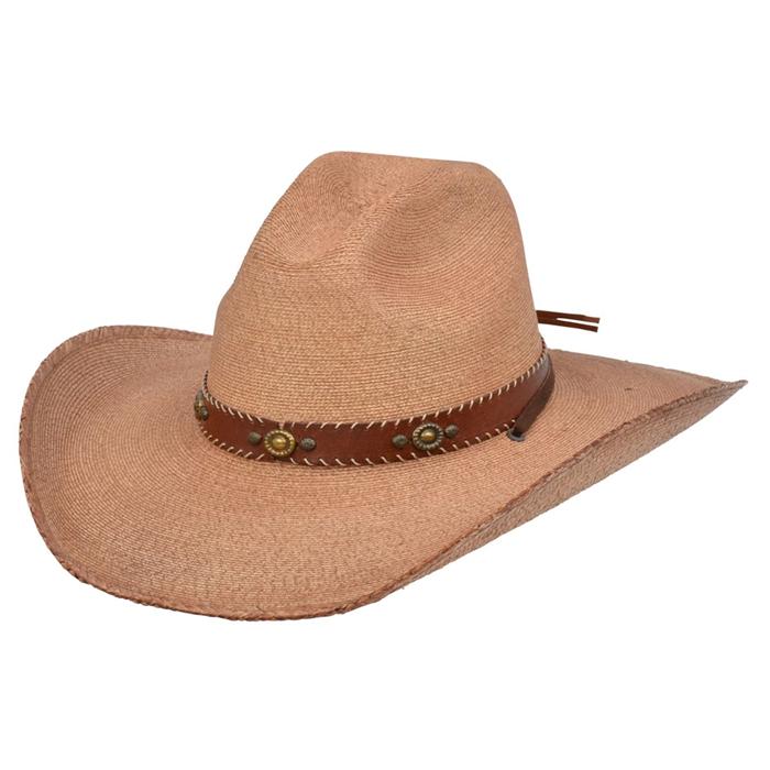 Alamo Palm Hat with Wind Crown