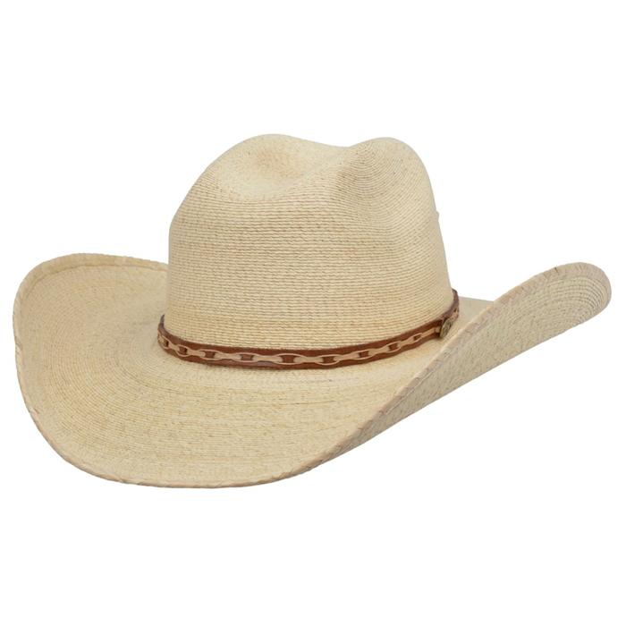 Alamo Palm Hat with Idaho Crown