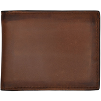 3D Brown Basic Bifold Wallet