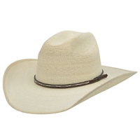 Alamo Kids' Guatemala Palm Hat with Truman Crown