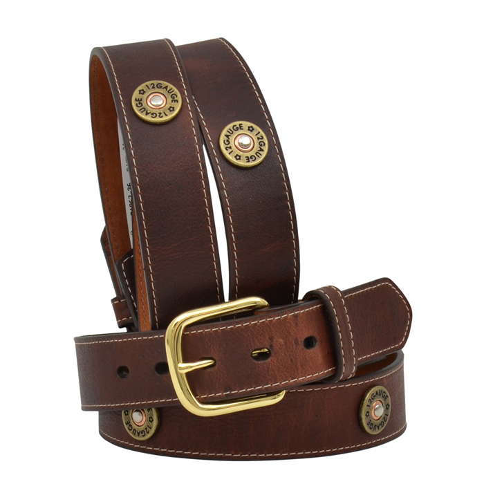 "Badger 1 1/2"" Dark Brown Men's Outdoor Belt"