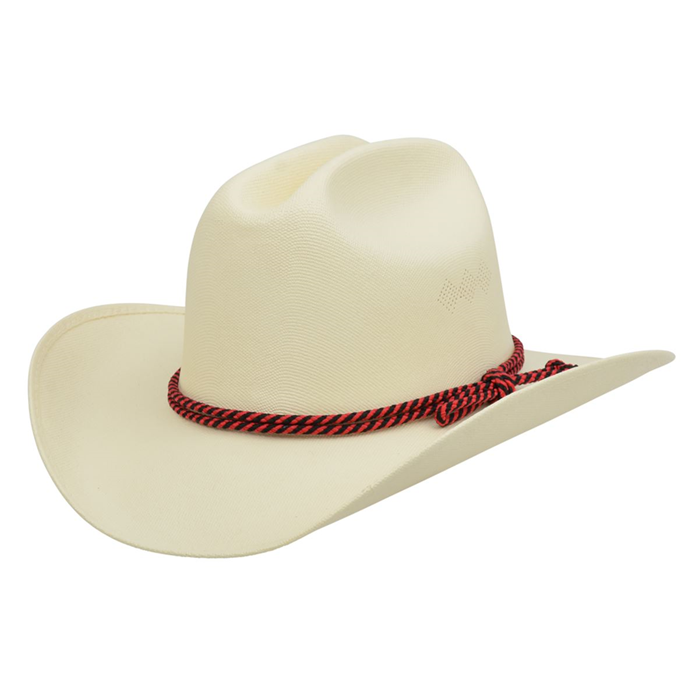 Alamo Kids' Canvas Hat with Cattleman Crown