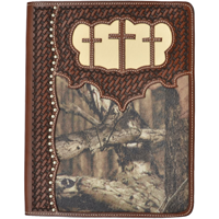 3D Brown iPad® Cover