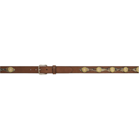 "Badger 1 1/4"" Brown Kids' Outdoor Belt"
