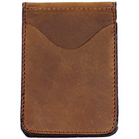 3D Brown Basic Money Clip