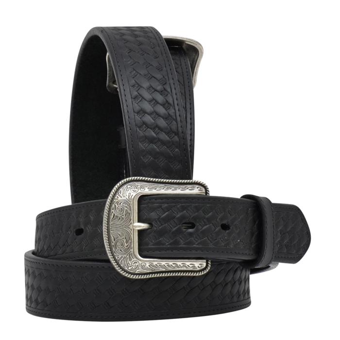 "3D 1 1/2"" Black Men's Western Basic Belt"