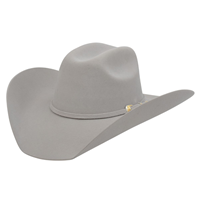 Alamo 7X Silverbelly Felt Hat with Truman Crown