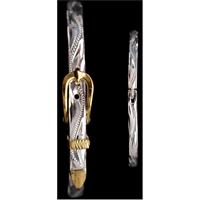 Silver Strike Buckle Bracelet