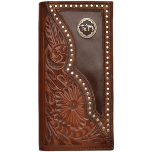 3d Brown Western Rodeo Wallet W814 3d Belt