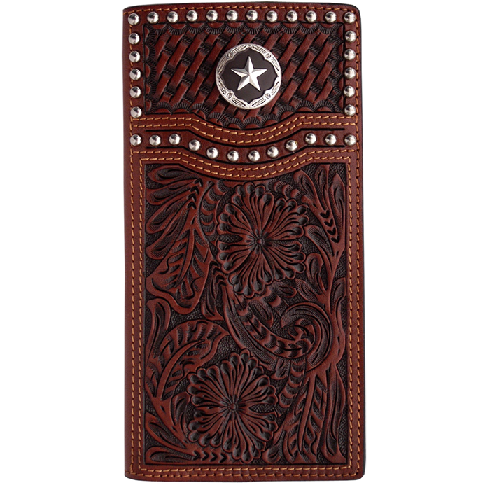 3d Tan Western Rodeo Wallet W281 3d Belt