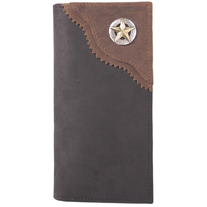 3D Black Western Rodeo Wallet