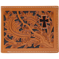 3D Natural Western Bifold Wallet