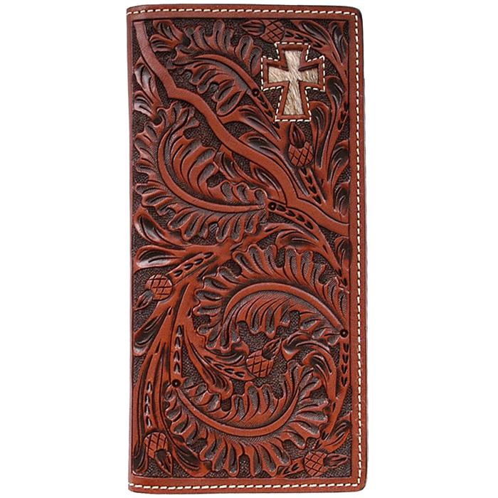 3D Tan Western Rodeo Wallet