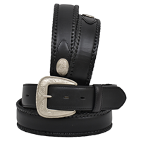 "Western Classics 1 1/2"" Black Men's Western Fashion Belt"
