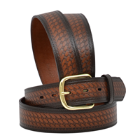 "Badger 1 1/2"" Brown Men's Work Belt"