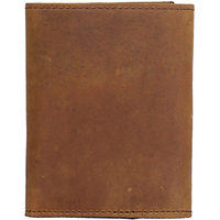 3D Brown Basic Trifold Wallet