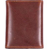 3D Tan Basic Trifold Wallet