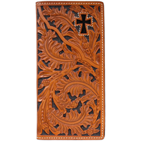 3D Natural Western Rodeo Wallet