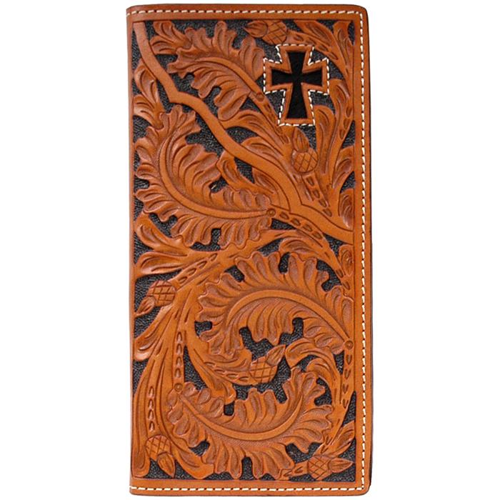 3D Natural Western Rodeo Wallet - W443 - 3D Belt