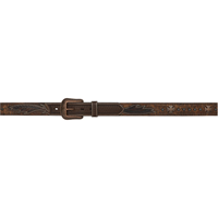 "3D 1 1/2"" Chocolate Brown Men's Western Fashion Belt"