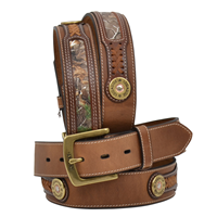"Rocky 1 1/2"" Brown Men's Outdoor Belt"