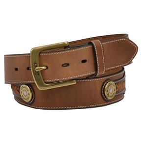 Rocky Mens Outdoor Shotgun Shell and Camo Belt