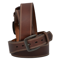 "Georgia 1 3/4"" Dark Brown Men's Work Belt"