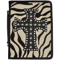 3D Black Bible Cover