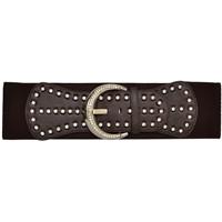 "Angel Ranch 4"" Chocolate Ladies' Fashion Belt"