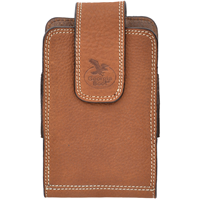 Georgia Light Brown Large Smartphone Holder