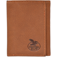 Georgia Light Brown Work Trifold Wallet