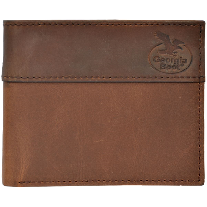 Georgia Brown Work Bifold Wallet