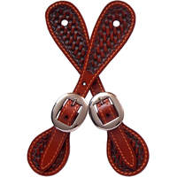 3D Tan Small Spur Straps
