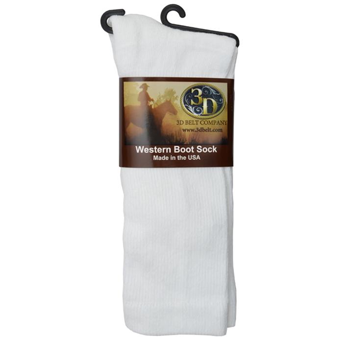 3D Boot Sock Mid-Calf Size Medium