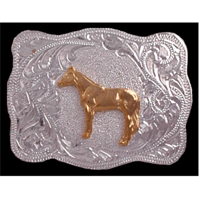 Silver Strike Horse Kids' Buckle