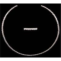 Silver Strike Silver Necklace
