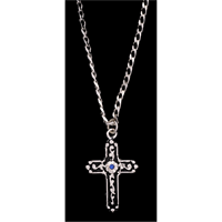 Silver Strike Men's Necklace