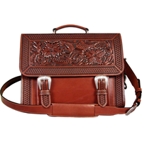 3D Tan Briefcase