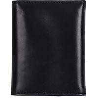 3D Black Basic Trifold Wallet