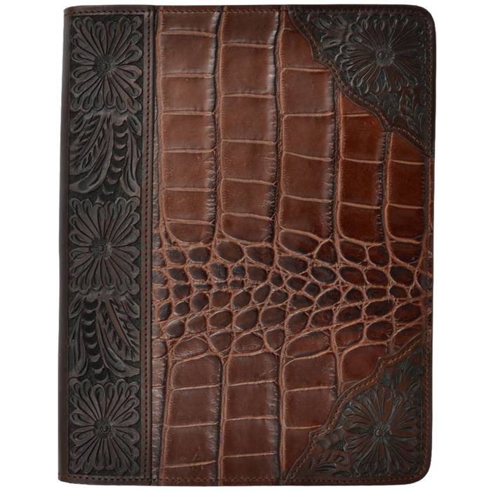 3D Dark Brown iPad® Cover
